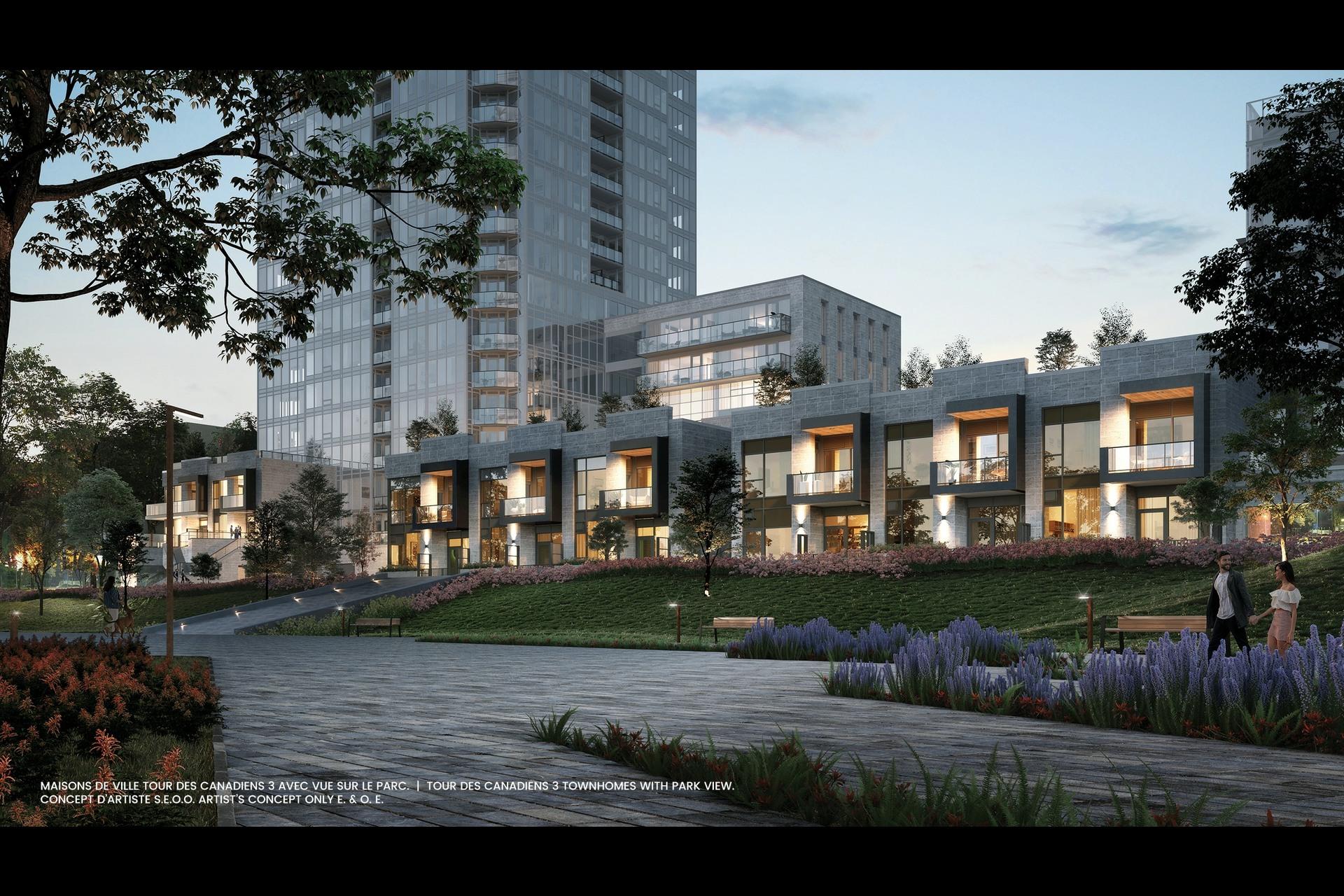 image 1 - Maison de ville À vendre Montréal