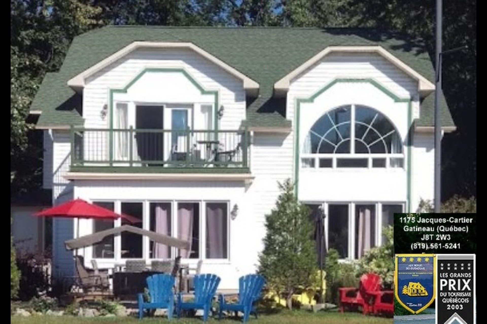 image 2 - Waterfront Short rental Gatineau District des Riverains - 1 room