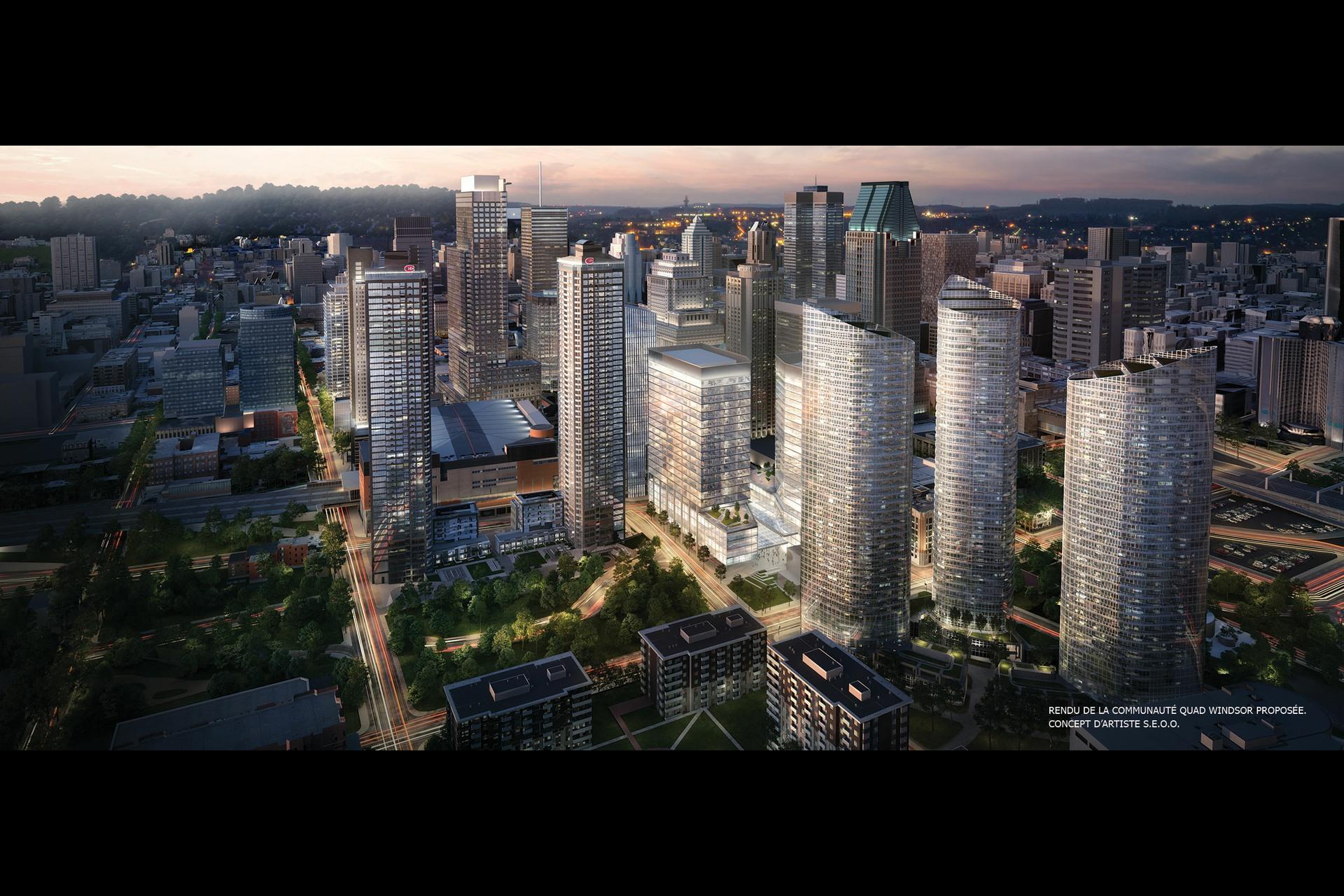image 2 - Condo - À vendre - Montréal  (Ville-Marie) - 6 pièces