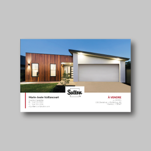 Brochure 1 propriété - 8,5x5,5