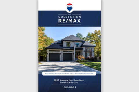 The RE/MAX Collection Vertical Postcard