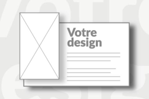 Carton vierge 11x6