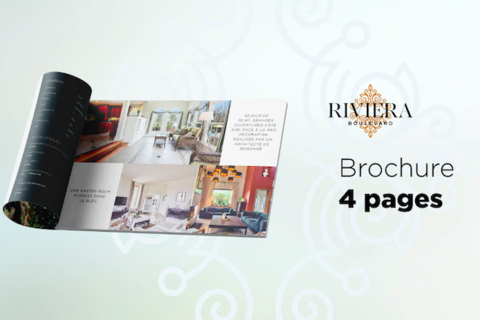 RIVIERA BOULEVARD Brochure 4 Pages