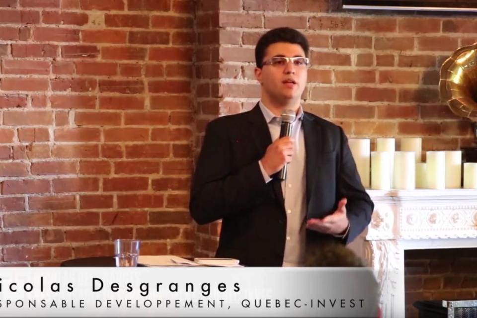 Nicolas DESGRANGES nous explique comment vendre à des étrangers
