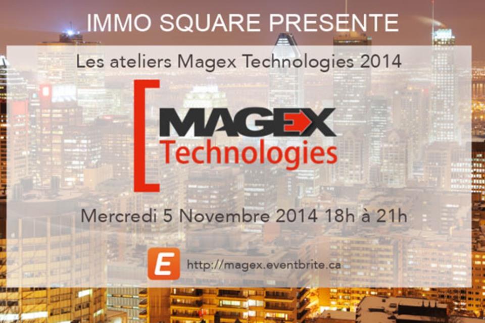Un événement unique : rencontrez les responsables Magex Technologies et découvrez les perspectives 2015.