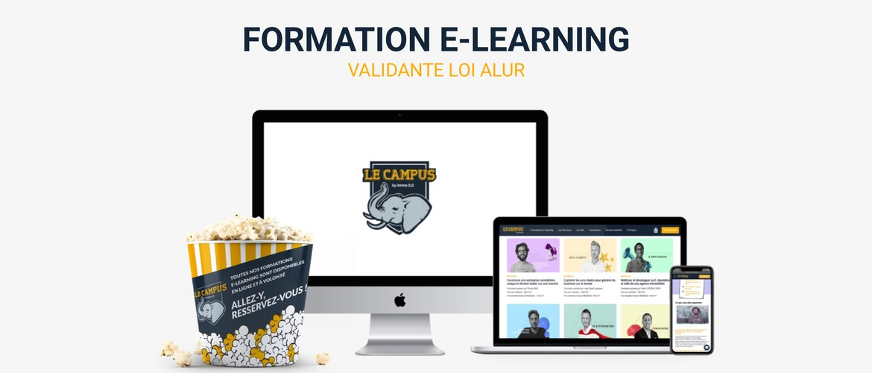 Les formations en ligne du Campus