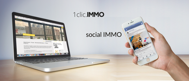 Pack de lancement (Social Immo et 1clic.IMMO)