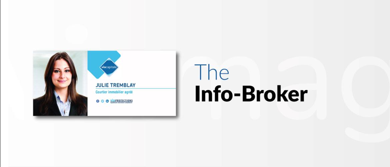 Info-Broker Postcard