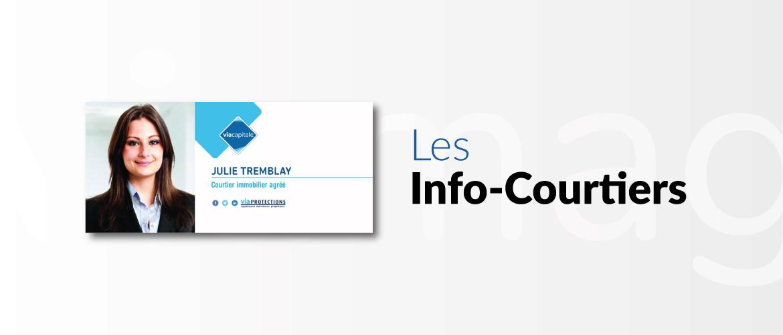 Carte postale Info-Courtier