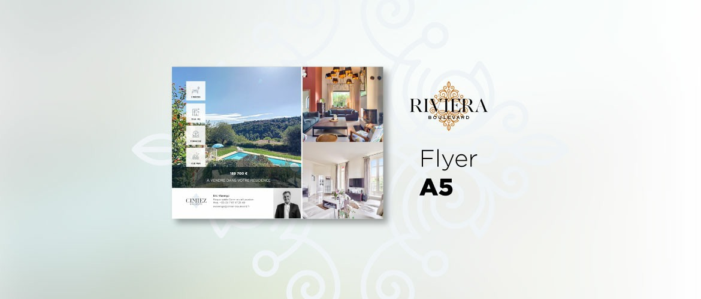 RIVIERA BOULEVARD A5 Recto