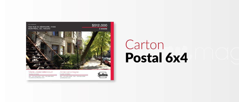 Carton postal