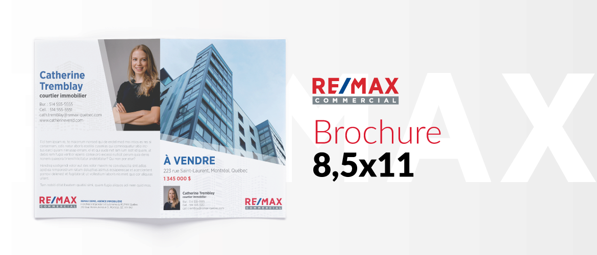 RE/MAX COMMERCIAL - Brochure 8,5x11