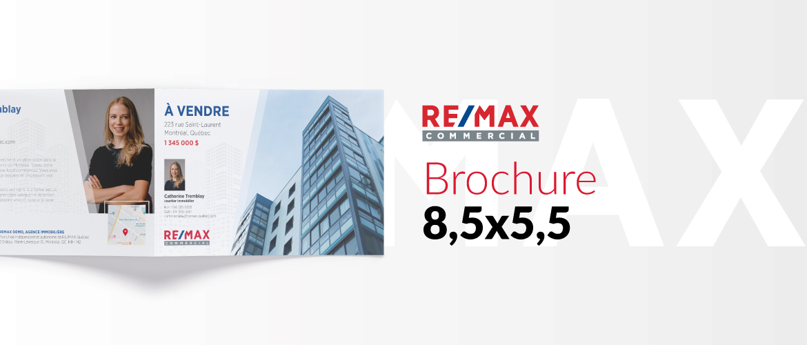 RE/MAX COMMERCIAL - Brochure 8,5x5,5