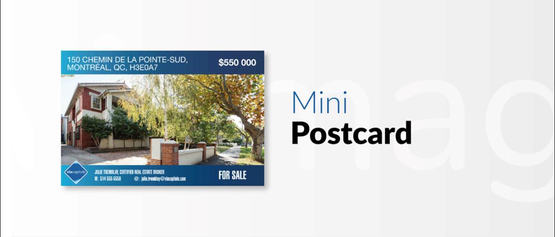 Mini Viamag Postcard