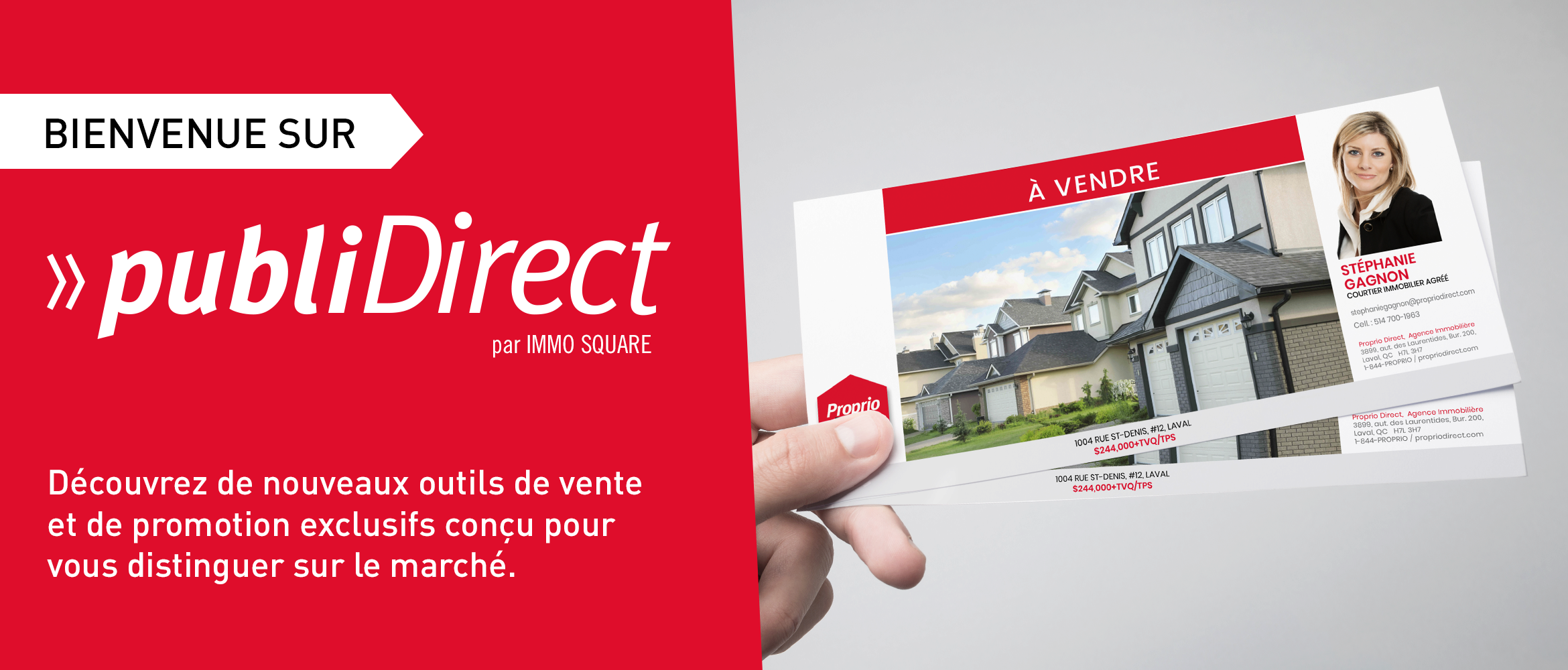 Bienvenue sur PubliDirect
