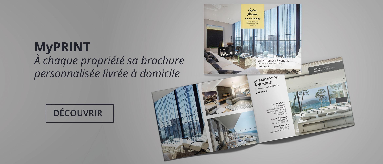 Votre outil de brochures personnalisées arrive sur IMMO STORE !