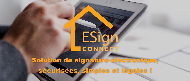 Signature électronique : simplifiez vos contrats !