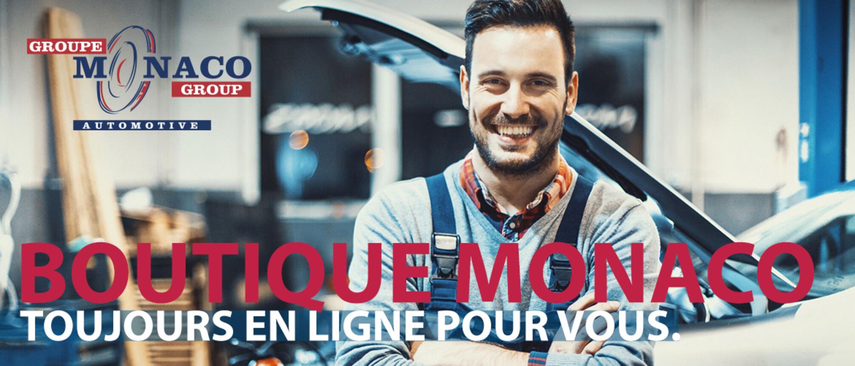 Bienvenu dans la boutique Monaco en ligne!