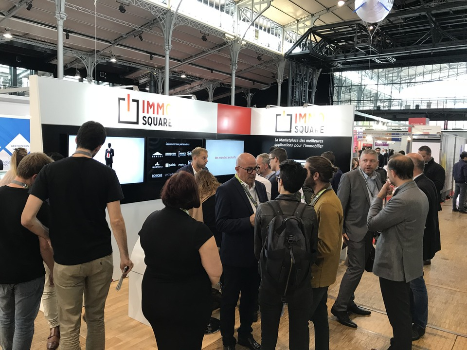 IMMO SQUARE au Salon RENT 2017