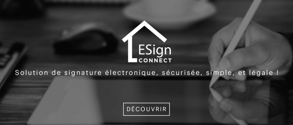 ESIGN CONNECT Signature électronique : simplifiez vos contrats!