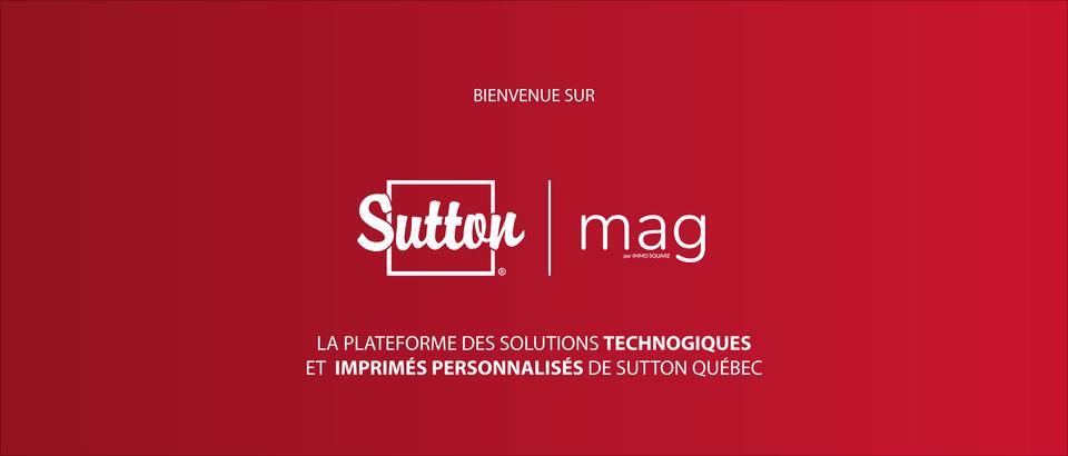Bienvenue sur Sutton Mag !