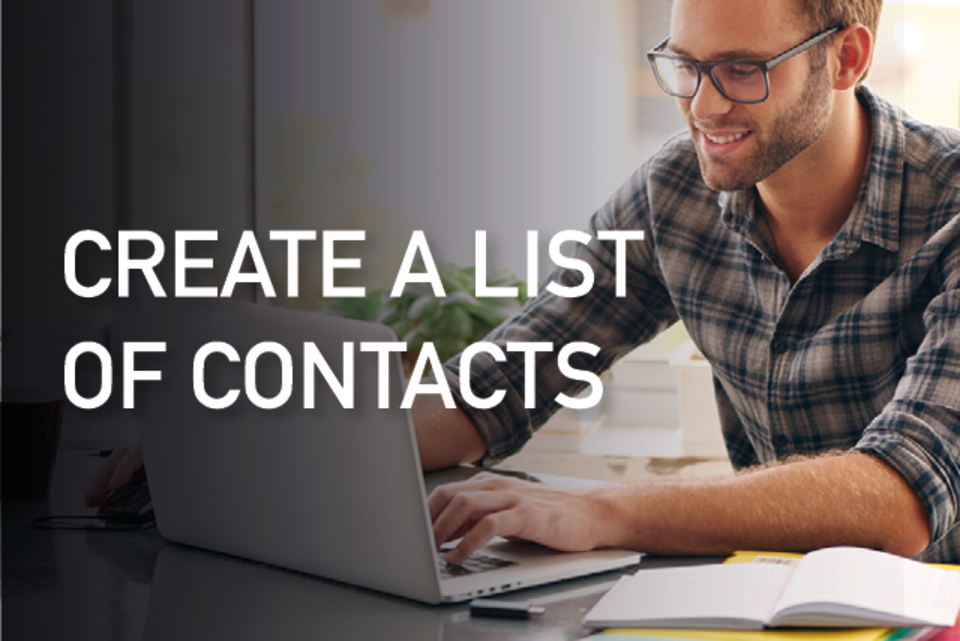 Tuto: Add a list of contacts