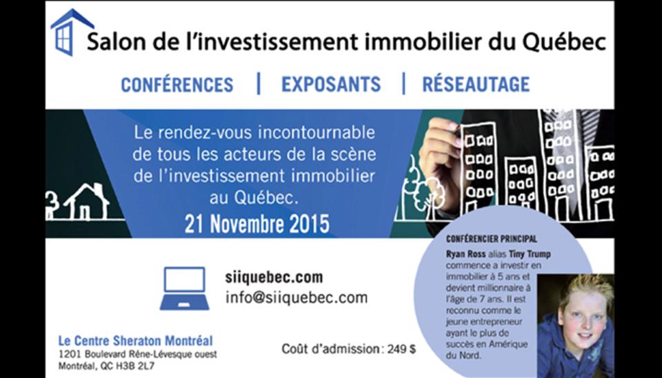 Le Salon de l'investissement immobilier, un événement à ne pas manquer !