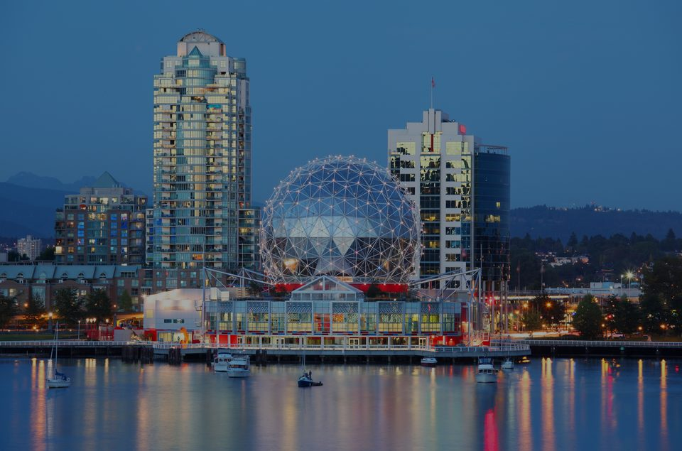 Vancouver, the luxury real estate area in Canada