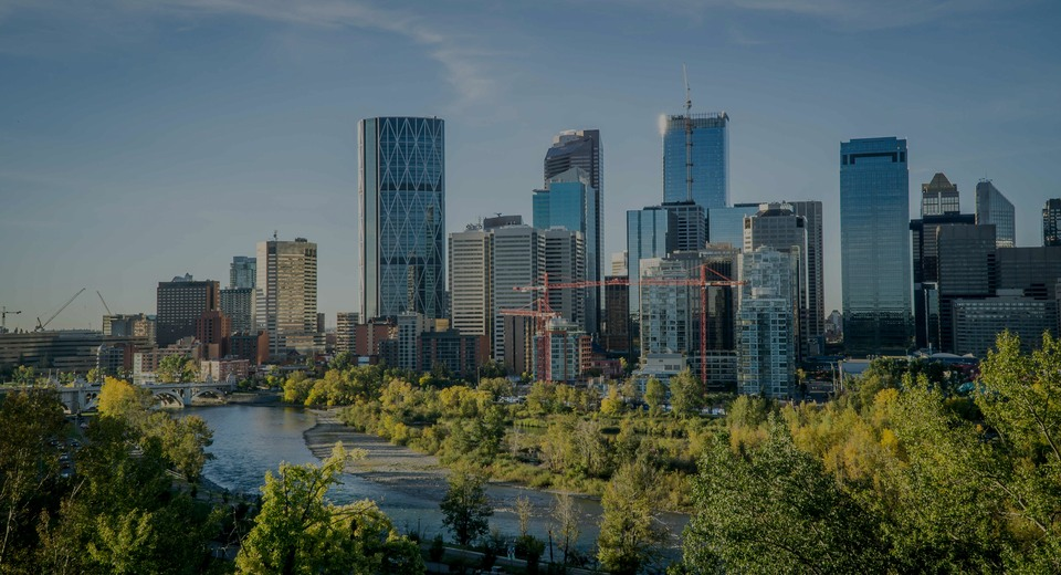 Calgary , the luxury real estate area in Canada