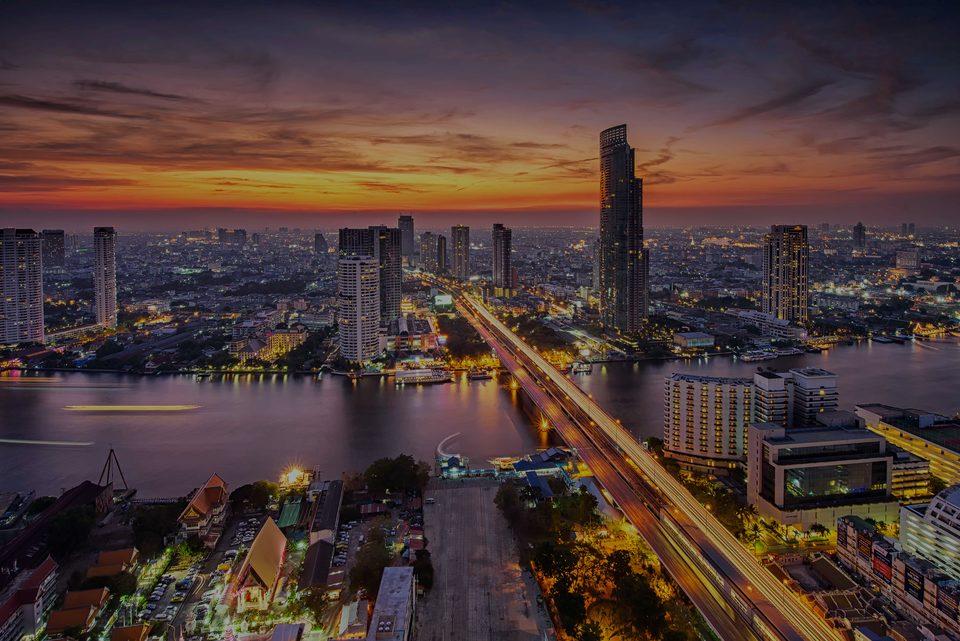 Bangkok, les areas en l'immobilier de luxe à Thailand