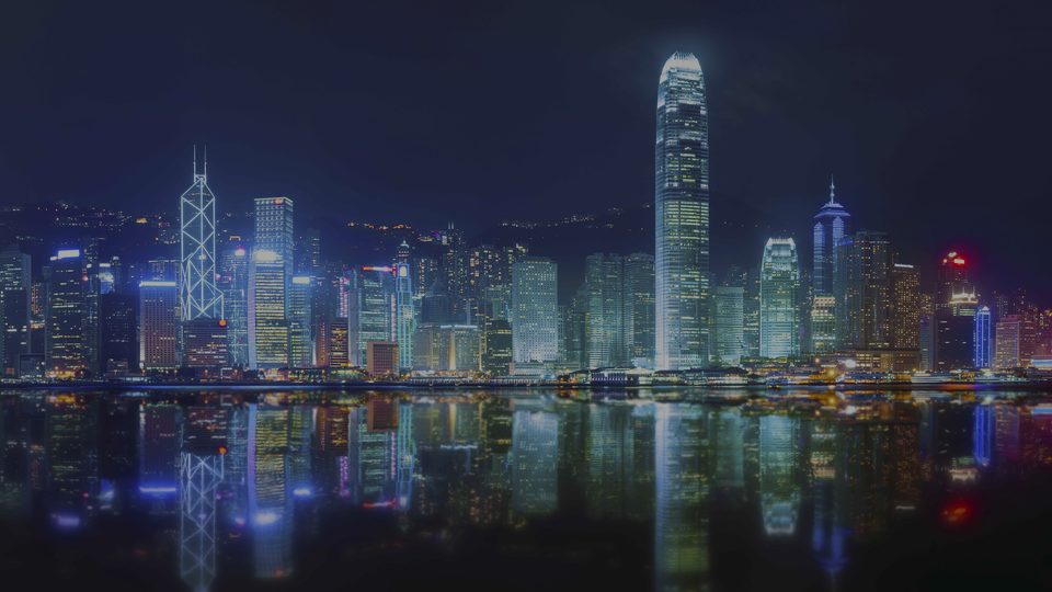 Hong-Kong, the luxury real estate area in China