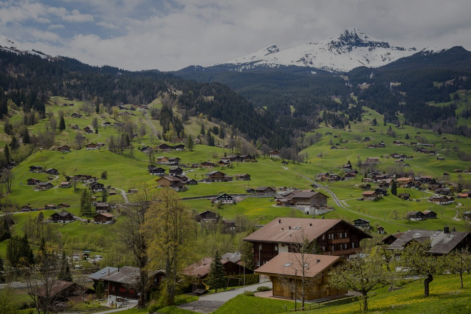Switzerland, the luxury real estate country