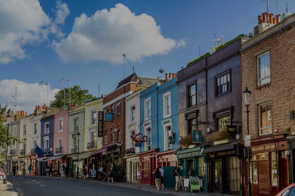 Notting Hill, the luxury real estate hotspot in London - United Kingdom