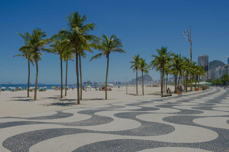 Copacabana, le hotspot de luxe à Rio de Janeiro - Brésil