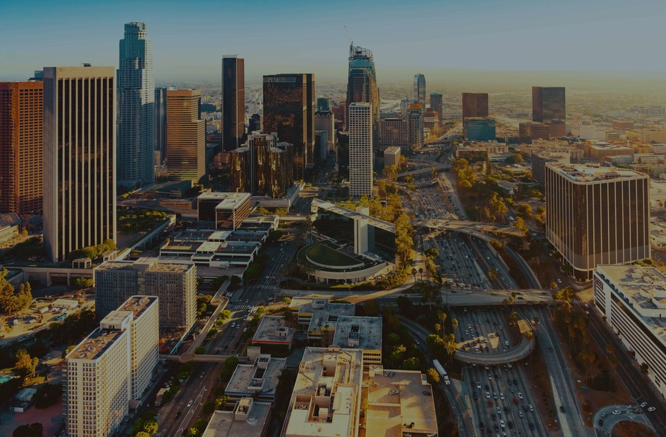 Downtown Los Angeles, the luxury real estate hotspot in Los Angeles - California, USA.