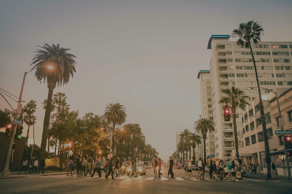 Santa Monica, le hotspot de luxe à Los Angeles - Californie