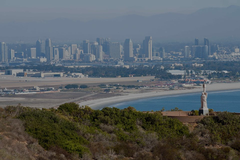 Point Loma , the luxury real estate hotspot in San Diego - California, USA.
