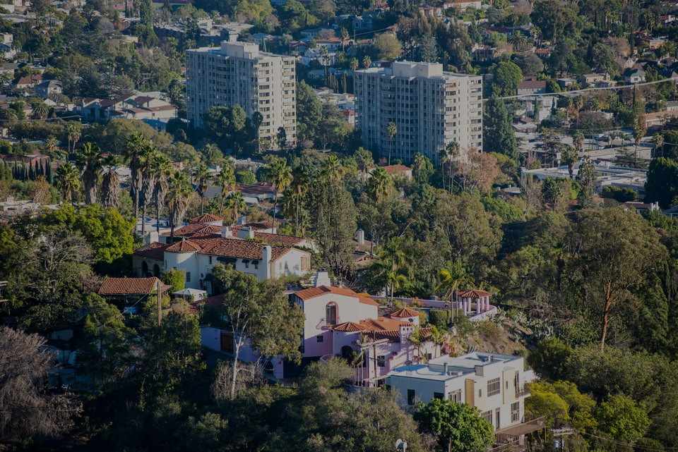 Los Feliz, the luxury real estate hotspot in Los Angeles - California, USA.