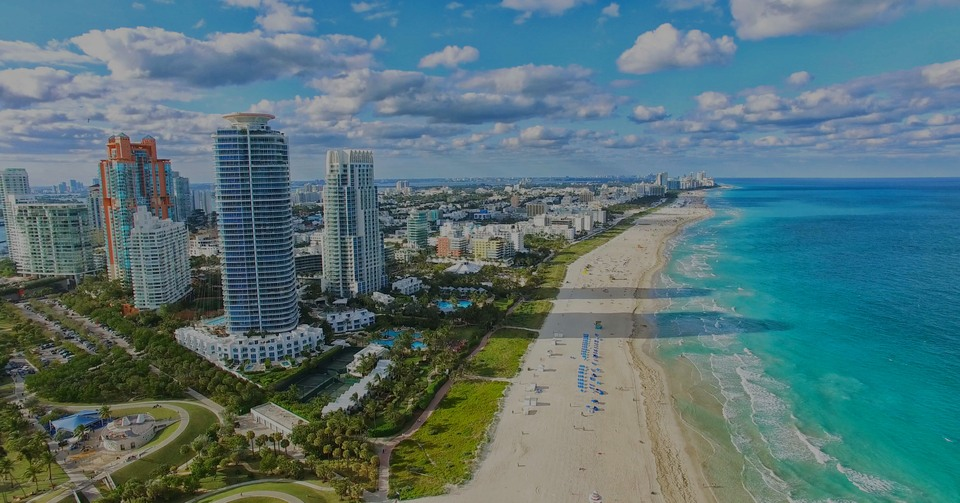 Miami Beach, le Hotspot de luxe à Miami - Florida, USA.