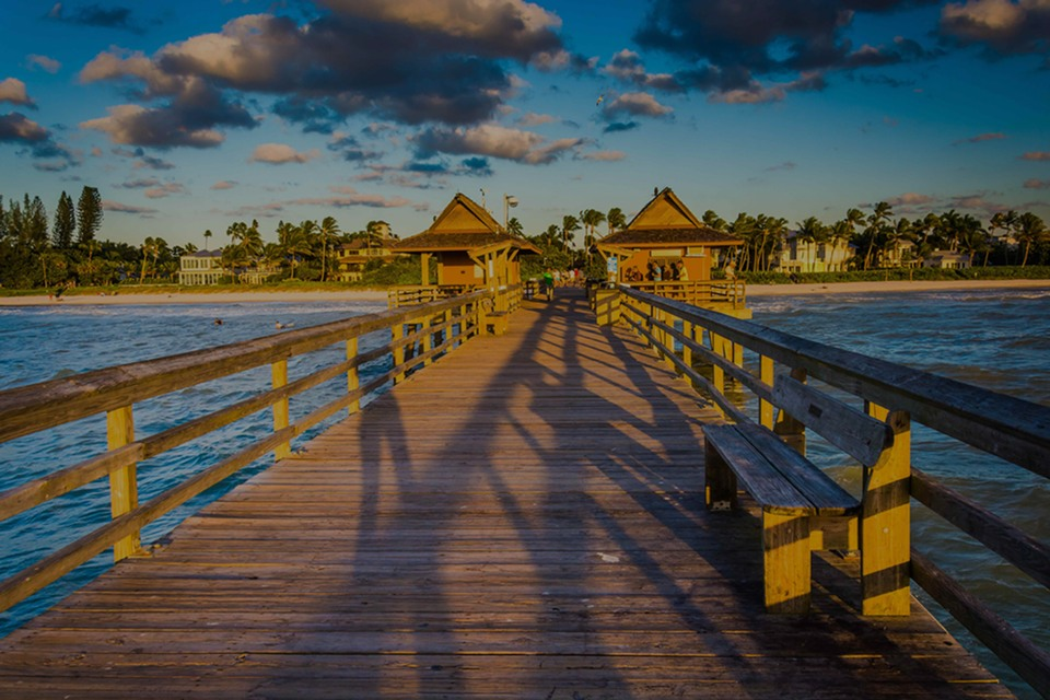 Naples, the luxury real estate hotspot in South West of Florida - Florida, USA.