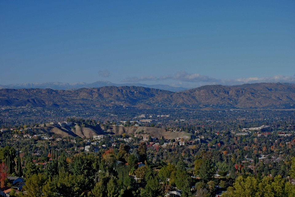 Woodland Hills, the luxury real estate hotspot in Los Angeles - California, USA.
