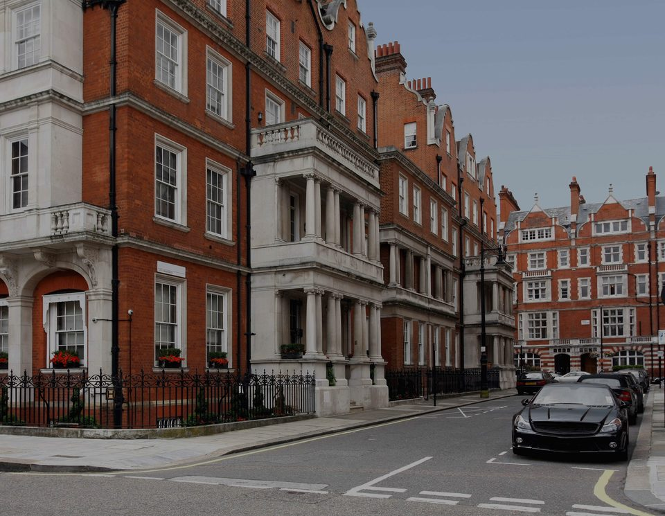 Mayfair, the luxury real estate hotspot in London - United Kingdom