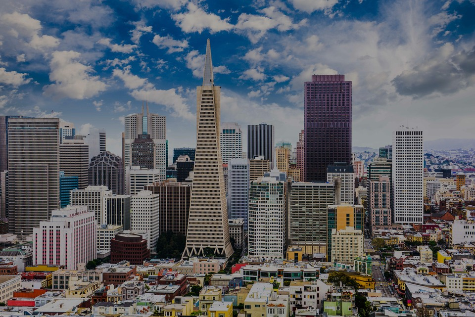 Financial District, the luxury real estate hotspot in San Francisco - California, USA.