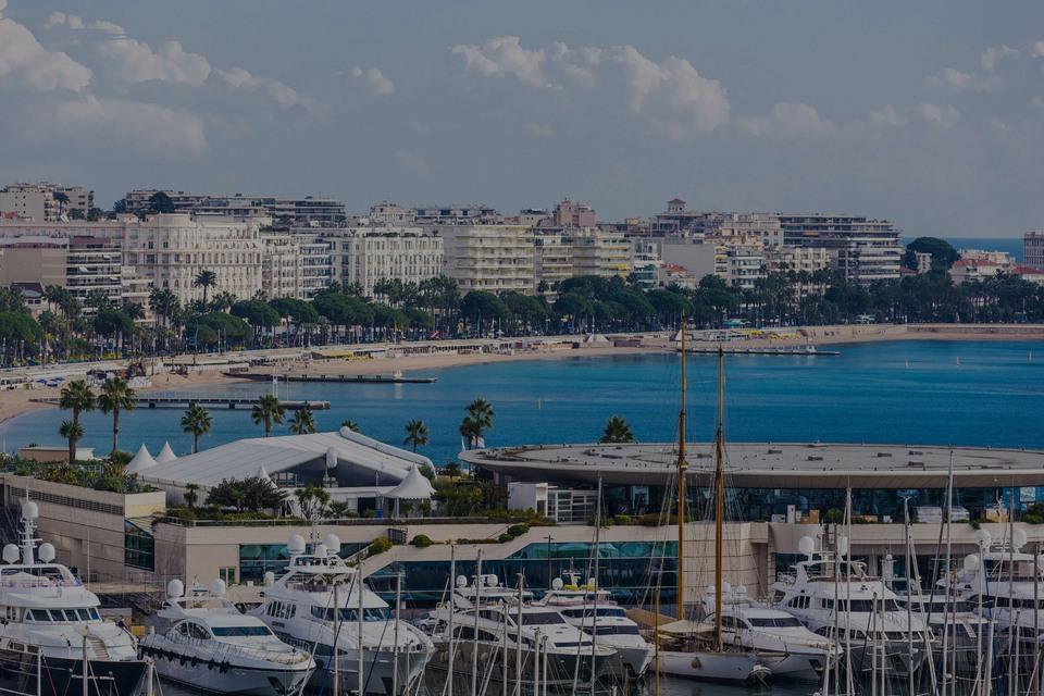 Cannes Croisette-Coastal, el hotspot de lujo en Costa azul - Francia