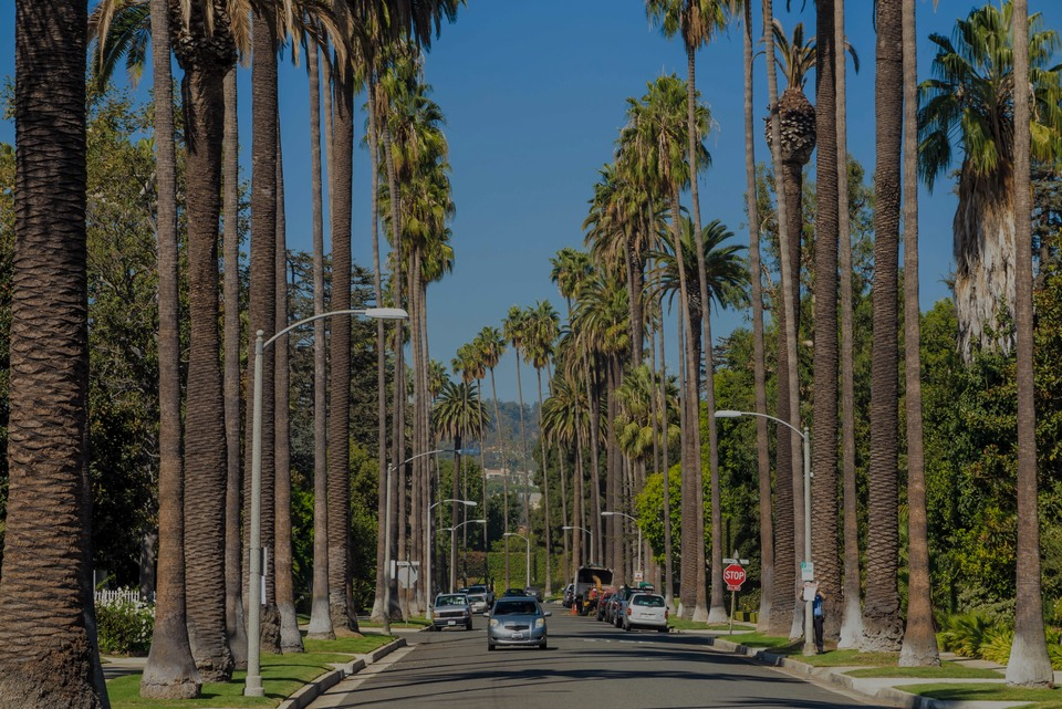 Beverly Hills, le Hotspot de luxe à Los Angeles - California, USA.
