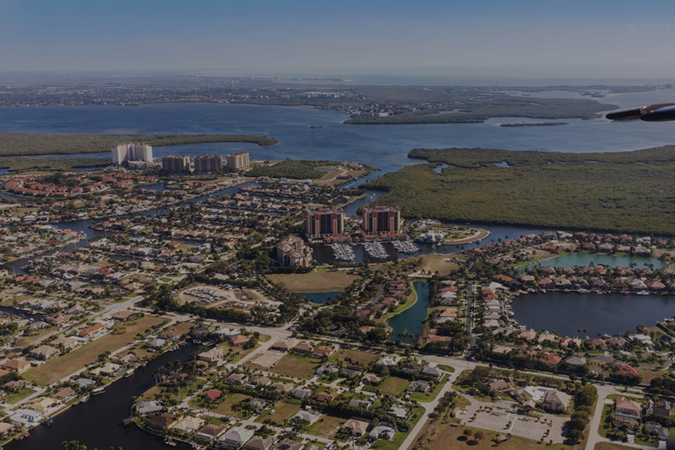 Cape Coral, the luxury real estate hotspot in South West of Florida - Florida, USA.