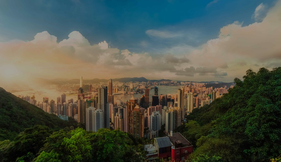 Victoria Peak, the luxury real estate hotspot in Hong-Kong - China